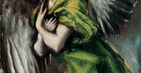 Ángel, Anunciación, El Greco